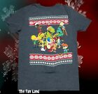 New Nickelodeon 90s Cast Vintage Retro Christmas Ugly Sweater Mens T-Shirt