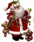Christmas Santa Claus Bears Select-A-Size Waterslide Ceramic Decals Xx image