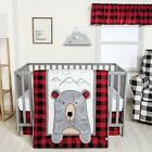 Trend Lab Peak-a-Bear Baby Nursery Crib Bedding CHOOSE FROM 3 4 Piece Set
