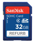 Wholesale LOT SanDisk 32GB SD 32G SDHC Class 4 SD Camera memory card SDSDB-032