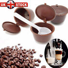 3/4 Refillable/Reusable Coffee Capsule Pods Cups for Nescafe Dolce Gusto Machine