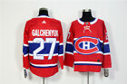 Mens Montreal Canadiens 27 Alex Galchenyuk Red Home Hockey Jersey