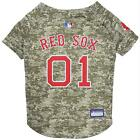 Boston Red Sox Pet Camo Jersey