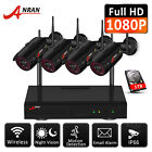 Wireless Home Security System WIFI 8CH CCTV IP Camera 1080P 1TB NVR Kits