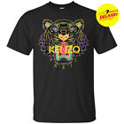 1Kenzo Logo T-Shirt Men Black Cotton Full Size