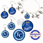 FREE DESIGN > KANSAS CITY ROYALS -Earrings, Pendant, Bracelet, Charm <FAST SHIP> on Ebay