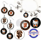 FREE DESIGN > SAN FRANCISCO GIANTS -Earrings, Pendant, Bracelet-MORE <FAST SHIP> on Ebay