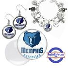 FREE DESIGN > MEMPHIS GRIZZLIES -Earrings, Pendant, Bracelet, Charm <FAST SHIP> on eBay