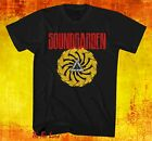 New Soundgarden Badmotorfinger 1991 Mens Vintage T-Shirt image