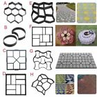 8 Types Cement Paving Molds Garden Outdoor Driveway Paving Stone Brick Maker New image