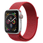 Sport Loop Woven Nylon Sport Watch Band Strap For Apple Watch Series 4/3 42/44MM