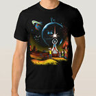 Rick And Morty Star Wars Combo T-Shirt M-3XL Cotton US Men's Clothing Trend 2019 $14.99 USD on eBay