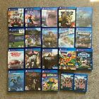Replacement Case ONLY NO GAME Assorted Lot PlayStation 4 PS4 Original COVER ART