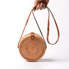 Fashion Ladies Bohemian Bali Rattan Beach Straw Bag Handbag Small Circle Vintage <br/> New product promotion will increase prices in two days