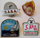 PICK 1:  SHRINERS Past SASA CONVENTION PINS Myrtle Beach 1990~91~95~96 Freemason