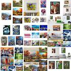 JN Landscape DIY Oil Painting By Number Unframed Wall Art Home Office Decor G