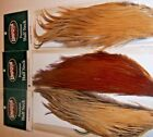 Metz Umpqua 1/2 Capes (neck) grade 1, 2, 3 black dun brown Dry Fly Hackle