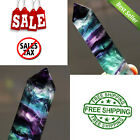 Striped Fluorite Z Crystal Point Healing Hexagonal Colorful Wand  Stone