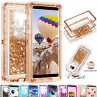 For-Samsung-Galaxy-Note-10-9-8-S10-Plus-S8S9-Liquid-Glitter-Bling-Quicksand-Case