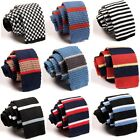 Fashion Men's Colourful Skinny Tie Necktie Knit Knitted Tie Narrow Slim Woven $8.12 CAD on eBay