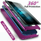 360° Full Case + Screen Protector For Samsung S10 S8 S9 Plus Note8 9 S7 Edge