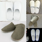 1 Pairs/Lot Disposable Closed Toe Guest Slippers Terry Hotel SPA Slipper Shoes