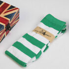 Women Lady Sexy Plus Size Striped Thigh High Socks Sheer Over Knee Long Stocking