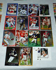 ELVIS GRBAC Ravens / SF 49ers / Chiefs 12 Card Assorted Lot