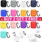 AirPods Silicone Charging Case Cover Protective Skin for Apple Airpod 1 2nd Gen