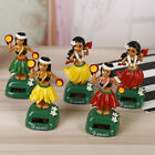 Hawaiian Hula Girl Solar Power Dancing Figure Doll Toy Car Auto Dashboard Decor