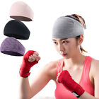 Unisex Wide Hair Band Elastic Sport Headband Outdoor Gym Fitness Yoga Sweatband