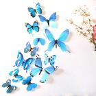 12pcs 3D Butterfly Wall Stickers Colorful Art Decal Room Decorations Decor DIY G