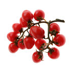 Artificial Cherry Tomatoes Fake Cherry Fruit Kitchen Learning Props