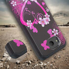Alcatel TCL LX,IdealXTRA,1X Evolve Cute Shock Proof Phone Case w/Tempered Glass