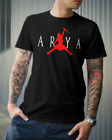 ARYA Stark Game of Thrones shirt Not Today GOT Winterfell Jon Snow Air parody