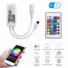 Mini Bluetooth/Wifi LED Controller&Remote For 5050 3528 RGB/RGBW LED Strip Light