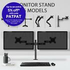 "13""-27"" Monitor Stand Desk Mount Bracket Single Dual Arm Screen Display Holder"