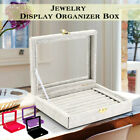 Kyпить Velvet Case Ring Necklace Trinket Organizer Display Jewelry Storage Box US ! на еВаy.соm
