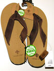 New Vintage Stone Mens Heavy Weight Hiking Flip Flops  $15.99 Free Shipping