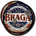 Braga Family Name Drink Coasters - 4pcs - Wine Beer Coffee & Bar Designs