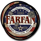 Farfan Family Name Drink Coasters - 4pcs - Wine Beer Coffee & Bar Designs