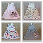 NWT H M Girl Cotton Dresses 4-6  6-8 Yrs Multi Color UNICORN KITTY BUNNY NEW