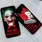 Clown Horror Phone Case For iPhone 8 X XS Samsung S9 S8 S7 Huawei Mate 20 P20 SW