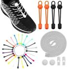 No Tie Lock Shoelaces Elastic Shoe Laces String For Kids Adults Sport Sneakers