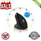 Charging Battery Left Hand Mouse 1600 DIP Ergonomic Vertical Wireless Mouse New