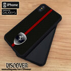 New Cover 7610Ferrari Red Strip For Iphone Samsung Galaxy Case