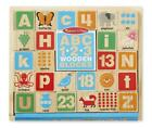 ABC/123 Wooden Blocks - Melissa & Doug Free Shipping!
