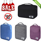 Travel Cable Bag Portable Digital USB Gadget Organizer Charger Wires Cosmetic
