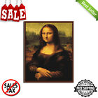 Mona Lisa Framed Picture Painting By Numbers Wall Art Digital Canvas Oil Durable