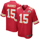 Patrick Mahomes Authentic Stitched Jersey 15 Kansas City Chiefs Red White Black on eBay